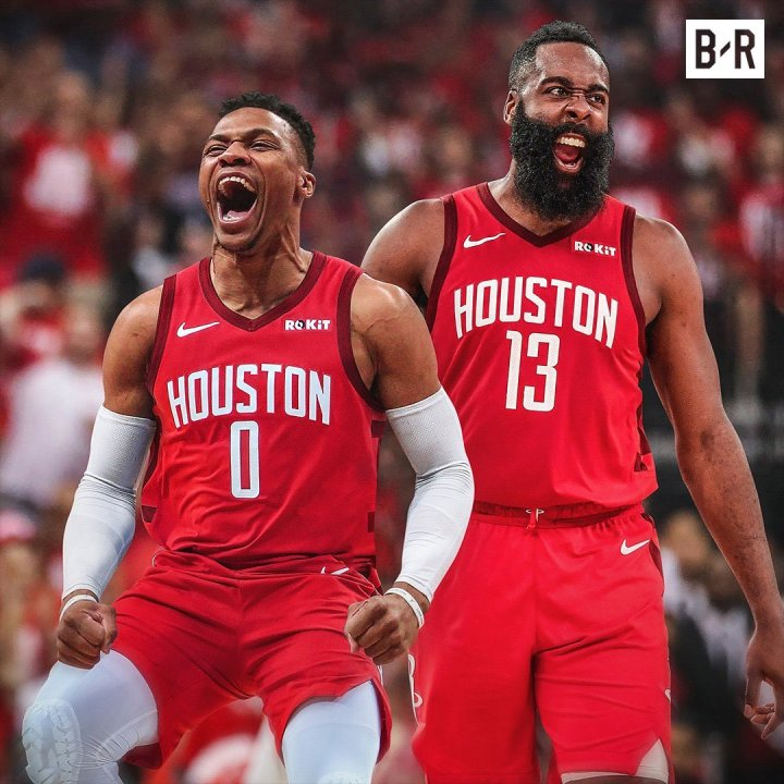 Russ and Harden reunited, Chris Paul kicked to the curb (as he should be)