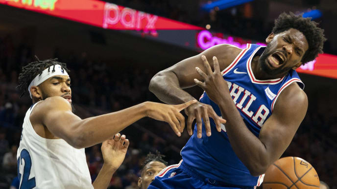 Joel Embiid needs to be suspended for the year #NBA #76ers #Sixers