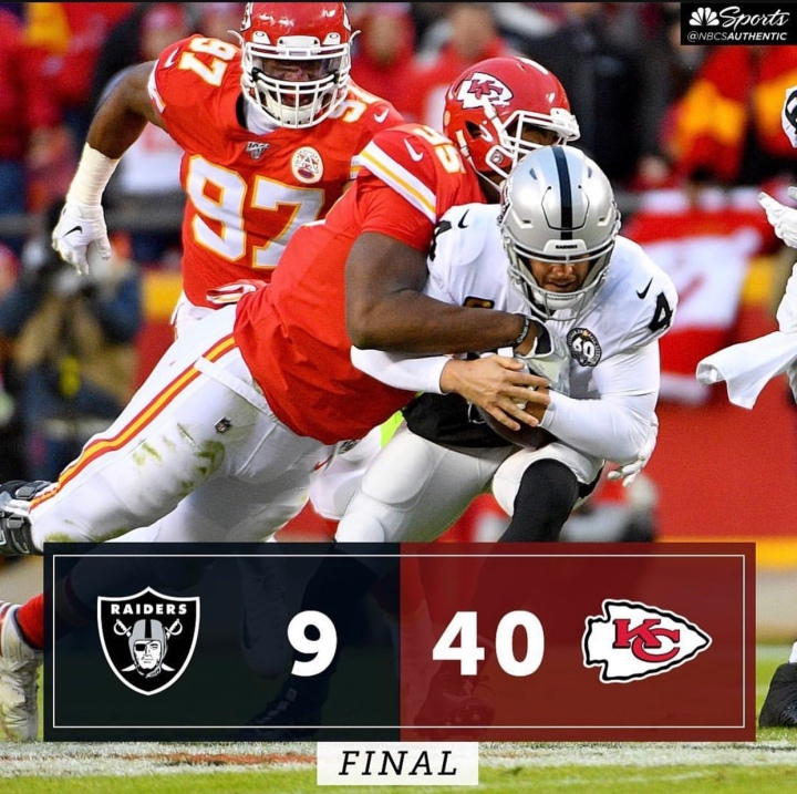 Week 13: (@ Chiefs) 6-6, 2 Straight L's, loss of hope for playoffs not completely gone.